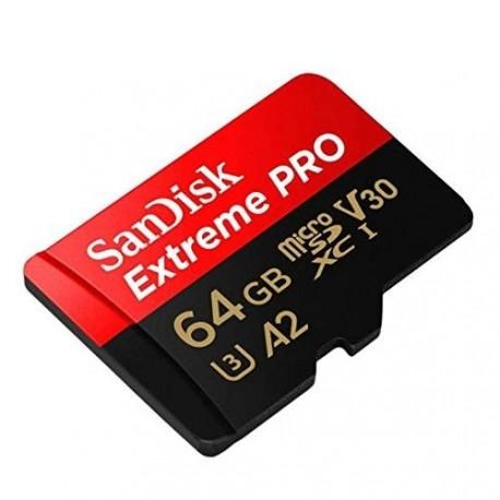 Spominska kartica micro SD Sandisk 64GB Class10 U3 UHS
