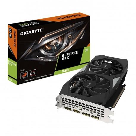 Grafična kartica GeForce GTX 1660 6GB Gigabyte OC 6G