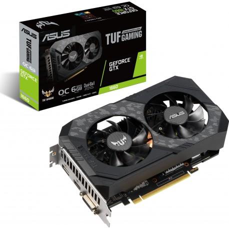 Grafična kartica GeForce GTX 1660 6GB ASUS OC TUF GAMING (TUF-GTX1660-O6G)