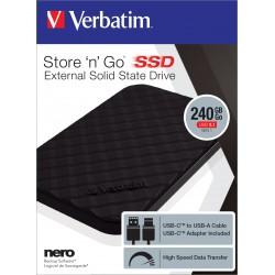Zunanji disk SSD 240GB USB 3.1 Verbatim 53231