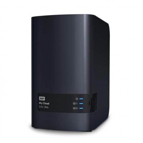 NAS strežnik WD My Cloud EX2 ULTRA 16TB, WDBVBZ0160JCH-EESN