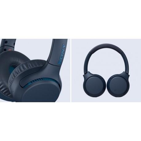 Slušalke SONY WHXB700L, modre