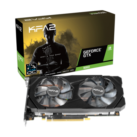 Grafična kartica GeForce GTX 1660 6GB KFA2 OC