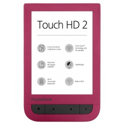 E-bralnik PocketBook Touch HD2, rubin rdeč
