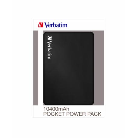 Prenosna baterija Verbatim Pocket Power Bank 10400mAh (49946)