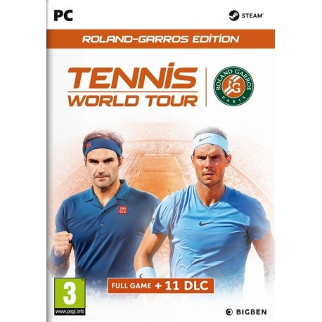 Igra Tennis World Tour - Roland Garros Edition (PC)
