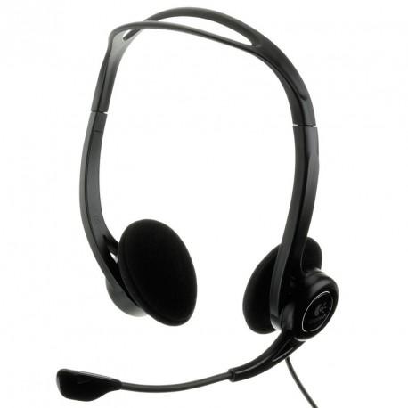 Slušalke z mikrofonom Logitech PC Headset 960 USB