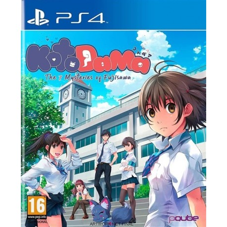 Igra Kotodama: The 7 Mysteries of Fujisawa (PS4)