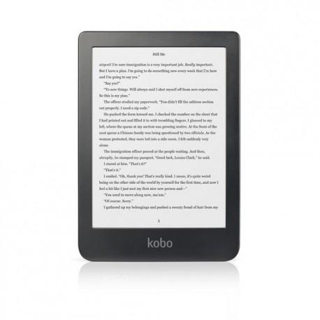E-bralnik Kobo Clara HD, črn