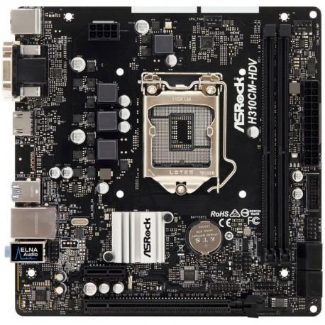 Matična plošča AsRock H310CM-HDV, DDR4, LGA1151