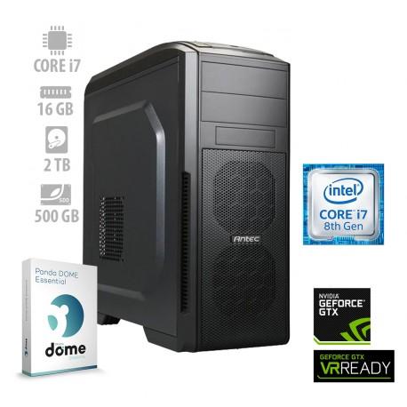 Osebni računalnik ANNI GAMER Extreme / i7-8700K / GTX 1070 / SSD / PF7G