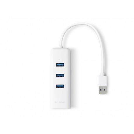 TP-LINK UE330 gigabit LAN USB3.0 3-port hub mrežni adapter