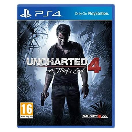 Igra Uncharted 4 A Thiefs End za Playstation 4