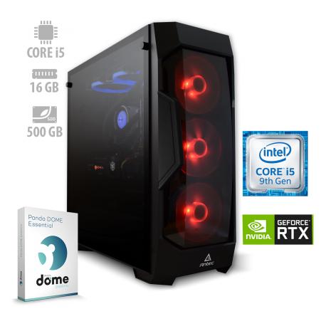 Osebni računalnik ANNI GAMER Advanced / i5-9600K / RTX 2060 / NVMe / PF7G