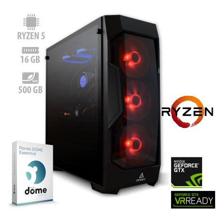 Osebni računalnik ANNI GAMER Advanced / Ryzen 5 3600 / GTX 1660Ti / NVMe / PF7G