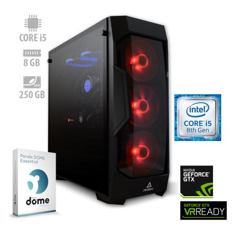 Osebni računalnik ANNI GAMER Advanced / i5-8400 / GTX 1060 / SSD / PF7G
