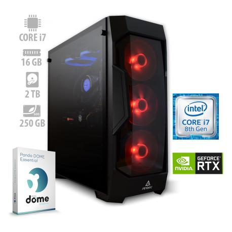 Osebni računalnik ANNI GAMER Extreme / i7-8700 / RTX 2070 / SSD / PF7G