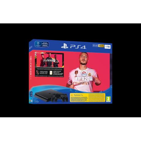 Playstation PS4 1TB set + FIFA 20/FUTVCH/PS+14D VCH/DS4