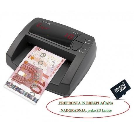 Detektor bankovcev olympia nc 325