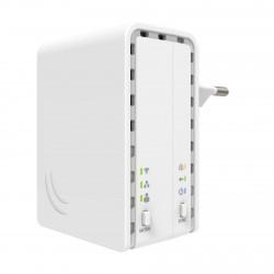 Elektro LAN Mikrotik 300Mb PWR-LINE AP PL7411-2nD sprejem.+brezž. dostopna toč.