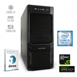 Osebni računalnik ANNI GAMER Advanced / i5-9400F / GTX 1660 / SSD / PF7