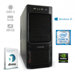 Osebni računalnik ANNI WORKSTATION Advanced / i5-9400F / SSD / W10P / PF7