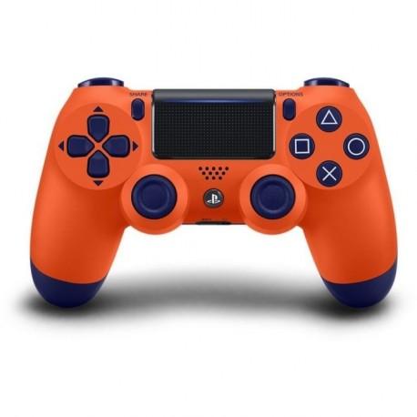 Brezžični igralni plošček za PS4 Dualshock4 V2, oranžen
