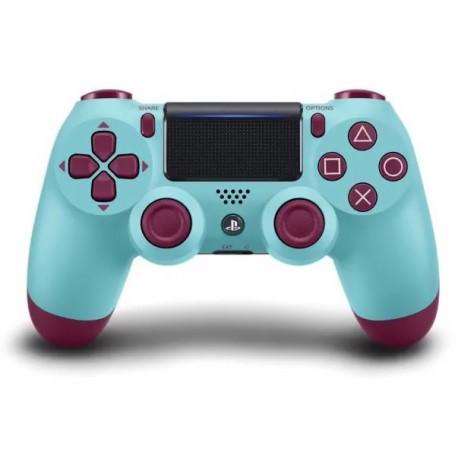 Brezžični igralni plošček za PS4 Dualshock V2, Berry Blue
