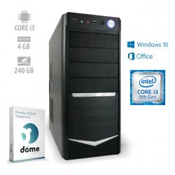 Osebni računalnik ANNI HOME Optimal / i3-9100 / SSD / W10 / OF2019 / CX3