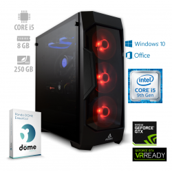 Osebni računalnik ANNI GAMER Advanced i5-9600K / GTX 1660 / W10 / OF365 / PF7G