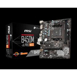 Matična plošča MSI B450M-A Pro MAX AM4