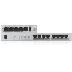 Stikalo (switch) 8 port Gigabit PoE Zyxel GS1008-HP