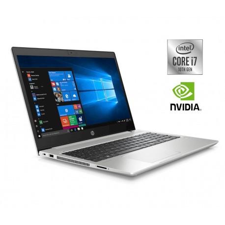 Prenosnik HP ProBook 450 G7, i7-10510U, 16GB, SSD 512, 1TB, MX, W10P