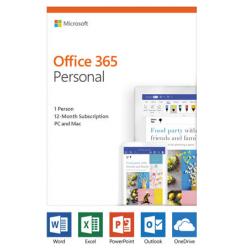 Microsoft Office 365 Personal, angleški, 1 letna naročnina