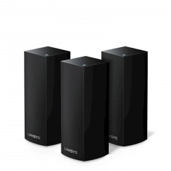 Brezžični razširitveni modularni sistem LINKSYS VELOP WHW0303B-EU 3-pack, črn