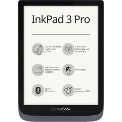 E-bralnik PocketBook InkPad 3 Pro, metalik siv