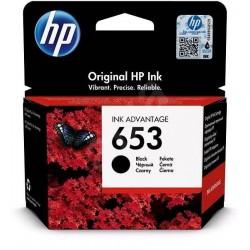 Črnilo HP 3YM75AE (653), črna