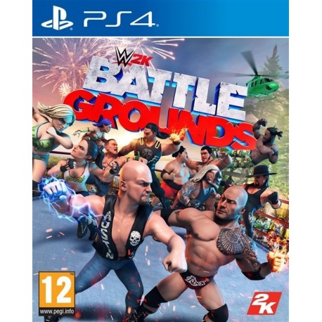 Igra WWE 2K Battlegrounds (PS4)