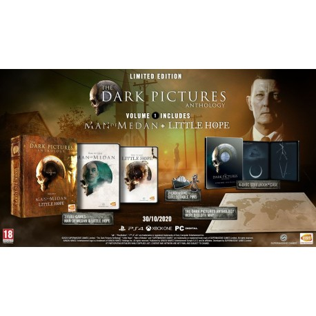 Igra The Dark Pictures Anthology: Volume 1 - Limited Edition (PS4)