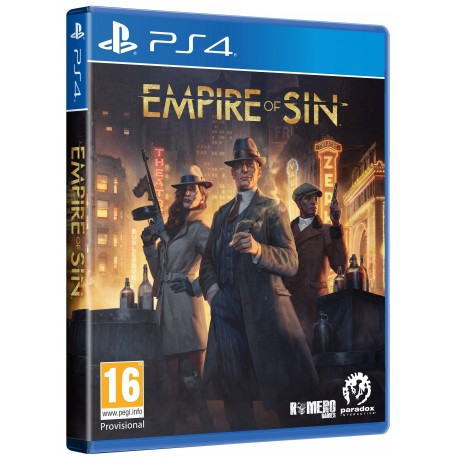 Igra Empire of Sin - Day One Edition (PS4)