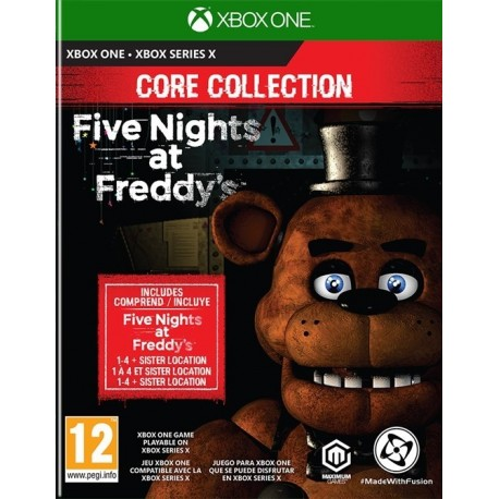 Igra Five Nights at Freddys: Core Collection (Xbox One & Xbox Series X)