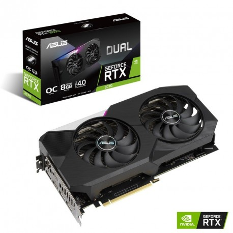 Grafična kartica ASUS RTX 3070 OC 8GB, DUAL-RTX3070-O8G