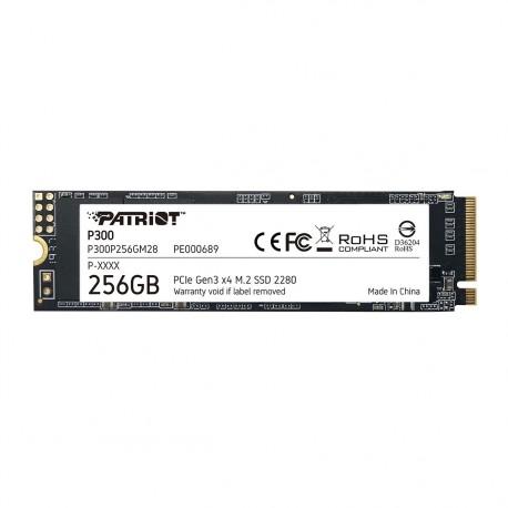 SSD disk 256GB NVMe Patriot P300, P300P256GM28