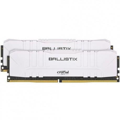 Pomnilnik DDR4 32GB (2x16GB) 3600 Crucial Ballistix White, BL2K16G36C16U4W