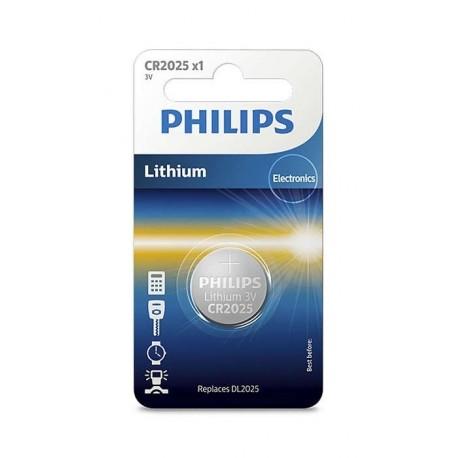 PHILIPS baterija CR2025, 3V, CR2025/01B