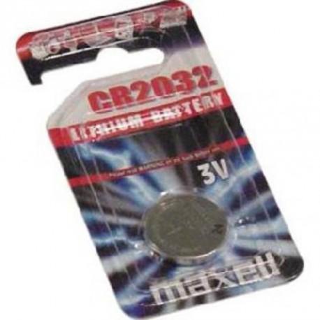 MAXELL Baterija CR2032, 1 kos