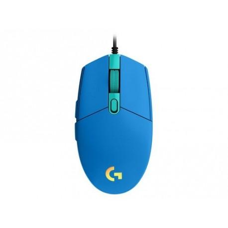 Miška Logitech G102 LIGHTSYNC, modra