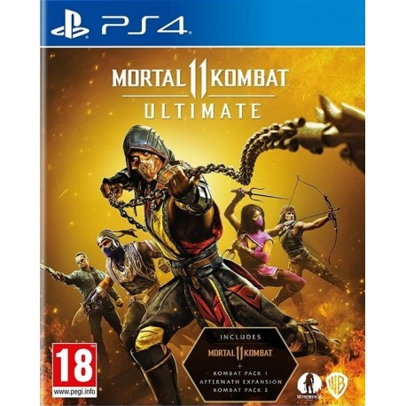 Igra Mortal Kombat 11 Ultimate (PS4)