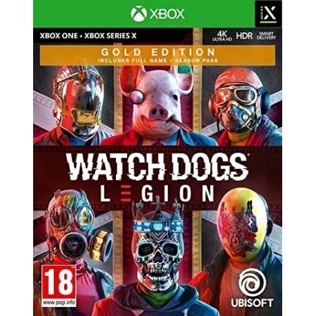 Igra Watch Dogs: Legion - Gold Edition (Xbox One & Xbox Series X)