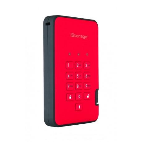 iStorage diskAshur2 256-bit 1TB - Red